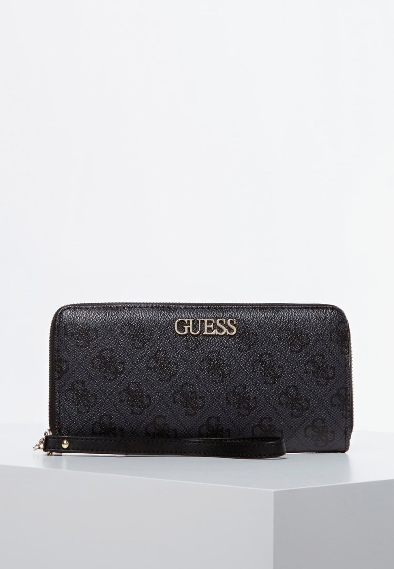 Guess - GUESS GROSSES PORTEMONNAIE ALBY - Wallet - schwarz