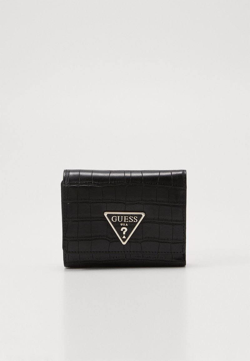 Guess - MADDY SMALL TRIFOLD - Portefeuille - black