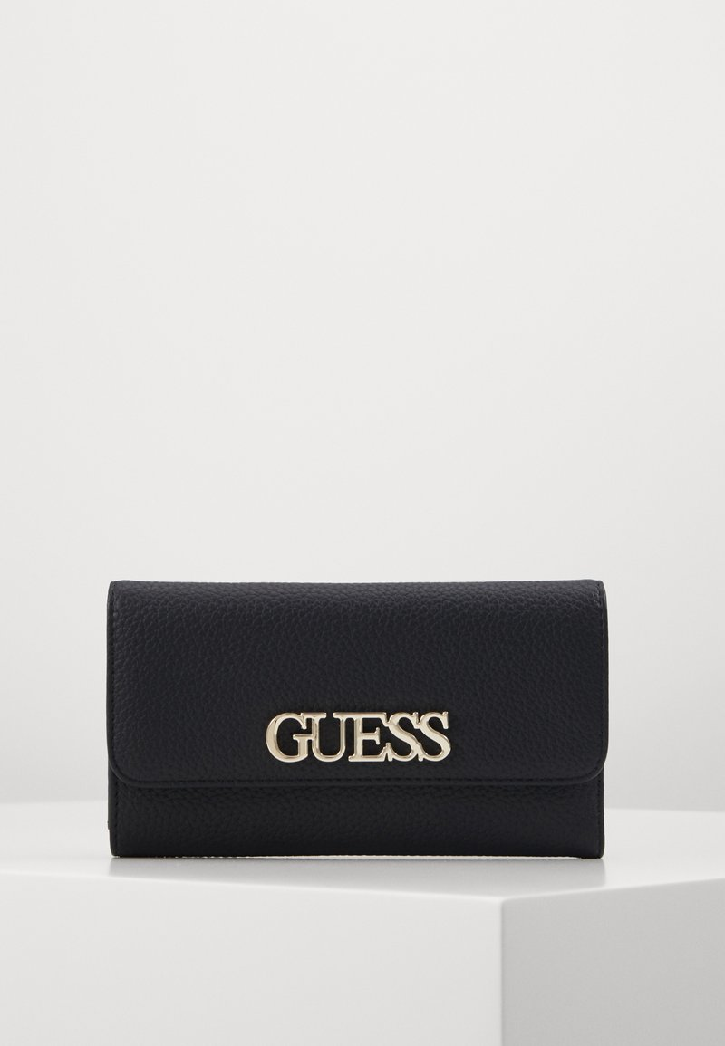Guess - UPTOWN CHIC POCKET TRIFOLD - Portfel - black