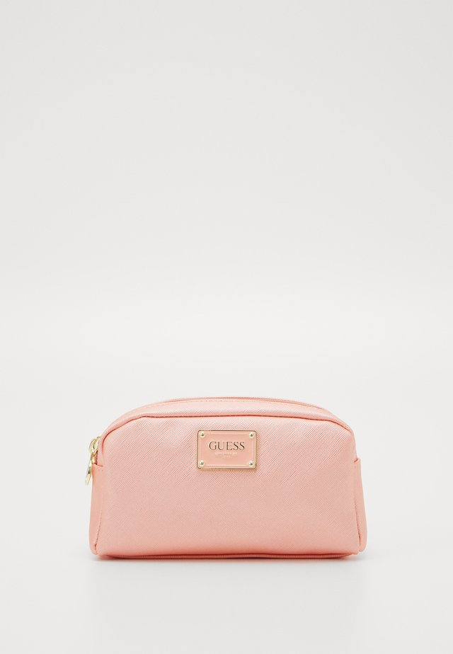 BAHIA DOUBLE ZIP - Toilettas - peach