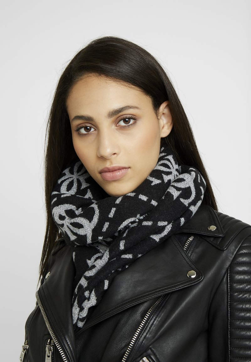 Guess - NOT COORDINATED SCARF - Bufanda - black