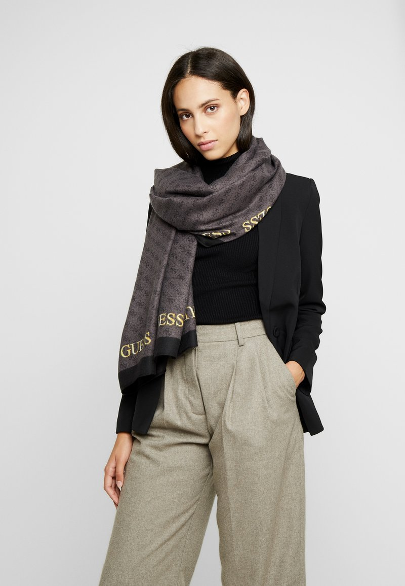 Guess - KERRIGAN SCARF - Scarf - coal
