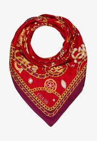 Guess - FOULARD - Scarf - red - 1