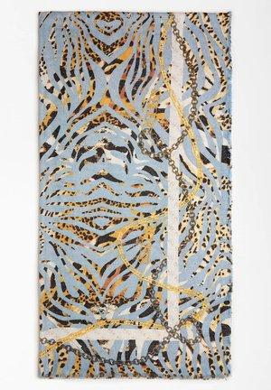 GUESS SCHAL ANIMALPRINT MIT KETTEN - Sciarpa - gemustert multicolor