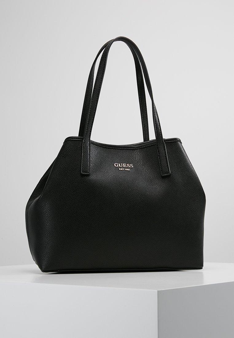 Guess - VIKKY TOTE SET - Håndtasker - black