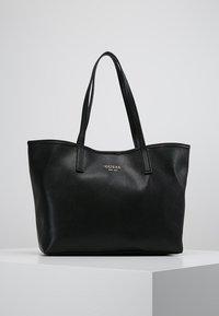 Guess - VIKKY TOTE SET - Handbag - black - 5