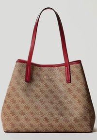 Guess - VIKKY SET - Handbag - brown - 1