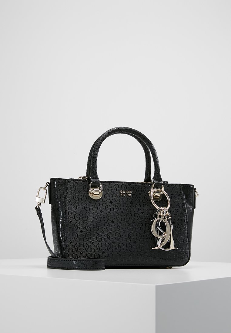 Guess - TAMRA SMALL SOCIETY SATCHEL - Torebka - black
