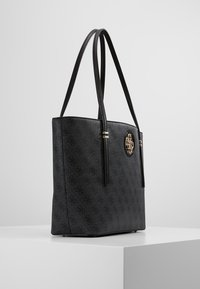 Guess - OPEN ROAD TOTE - Kabelka - coal - 3