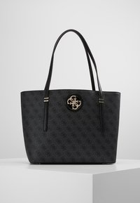 Guess - OPEN ROAD TOTE - Kabelka - coal - 0