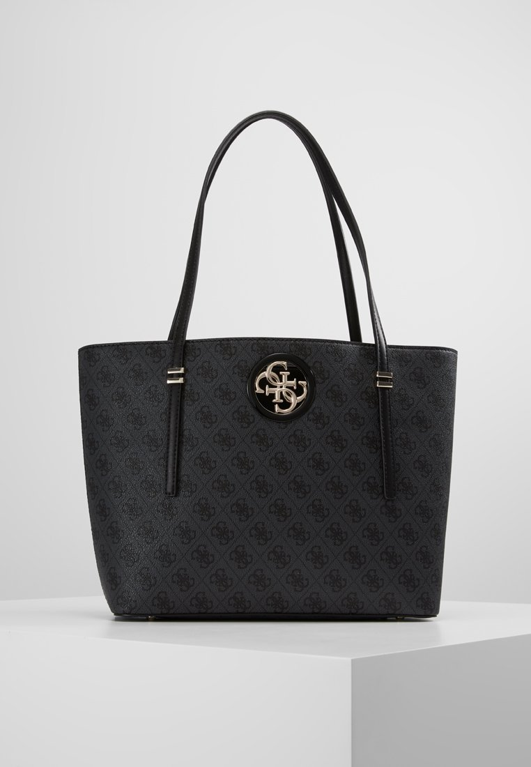 Guess - OPEN ROAD TOTE - Kabelka - coal