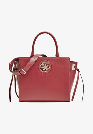 SOCIETY SATCHEL - Torebka - dark red