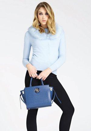 SOCIETY SATCHEL - Handbag - blue