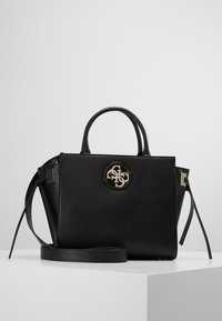 Guess - SOCIETY SATCHEL - Handbag - black - 0
