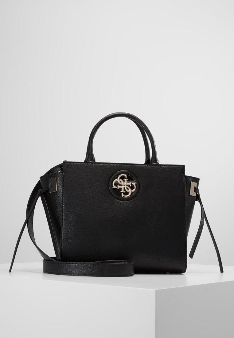 Guess - SOCIETY SATCHEL - Handbag - black