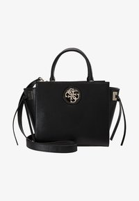 Guess - SOCIETY SATCHEL - Handbag - black - 5