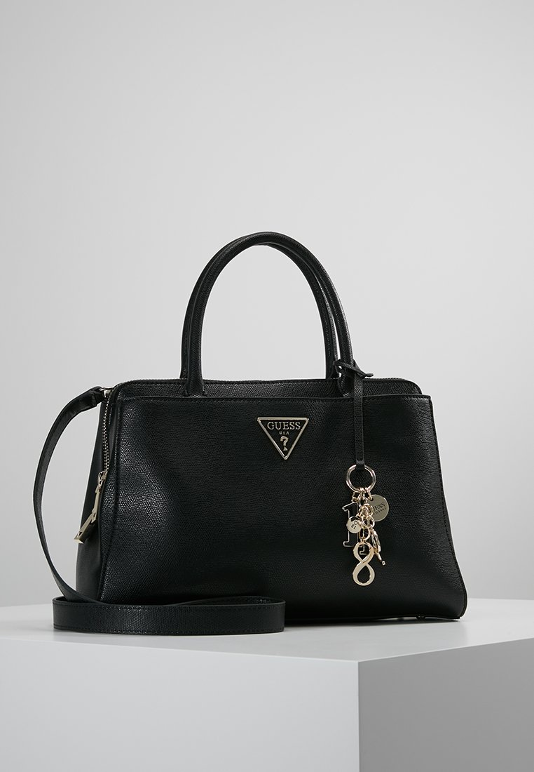 Guess - MADDY GIRLFRIEND SATCHEL - Sac à main - black