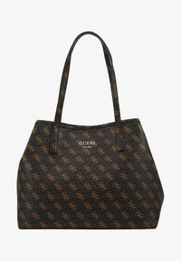 Guess - VIKKY TOTE SET - Torebka - brown - 7