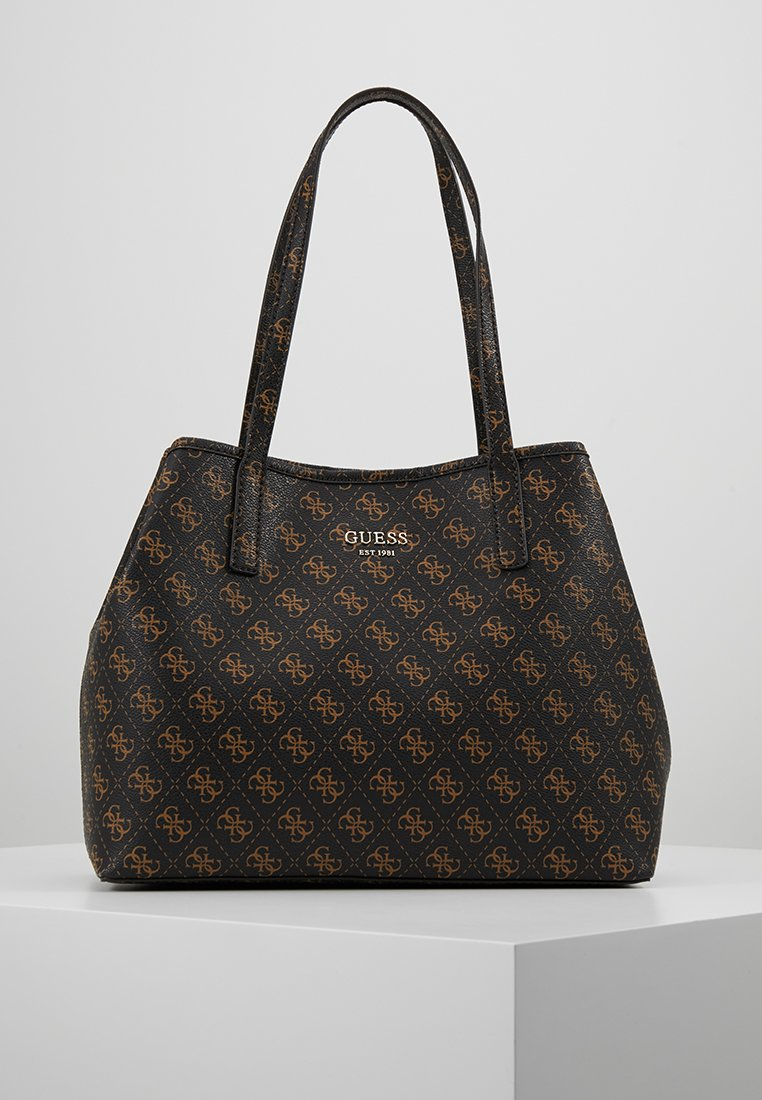 Guess - VIKKY TOTE SET - Torebka - brown