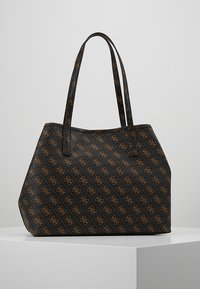 Guess - VIKKY TOTE SET - Torebka - brown - 2