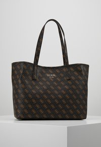 Guess - VIKKY TOTE SET - Torebka - brown - 5