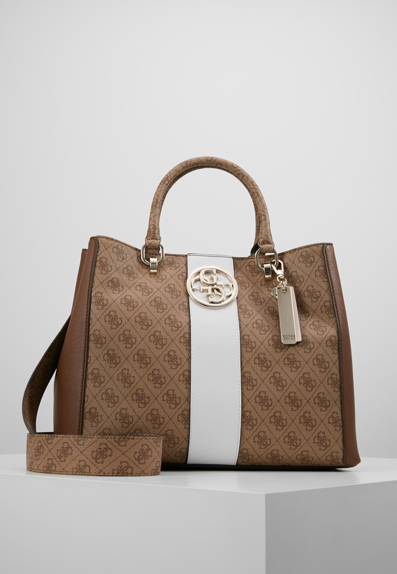 Guess - BLUEBELLE CARRYALL - Handtasche - brown