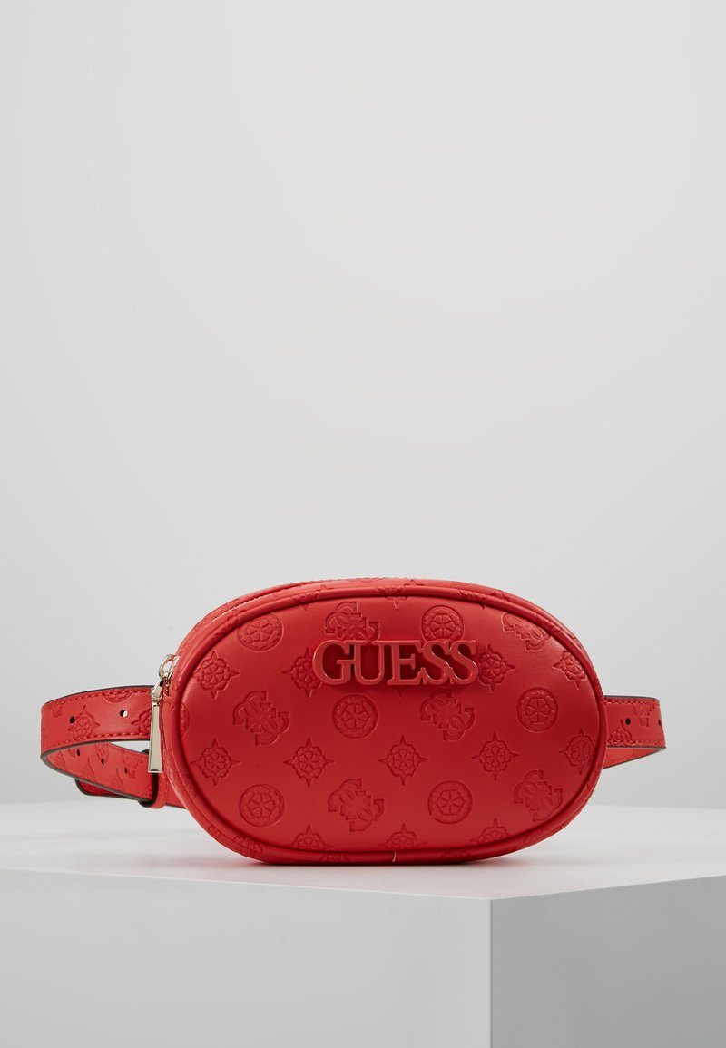 Poppy Guess BagSac Skye Belt Crossbody Banane 5A4jRL3