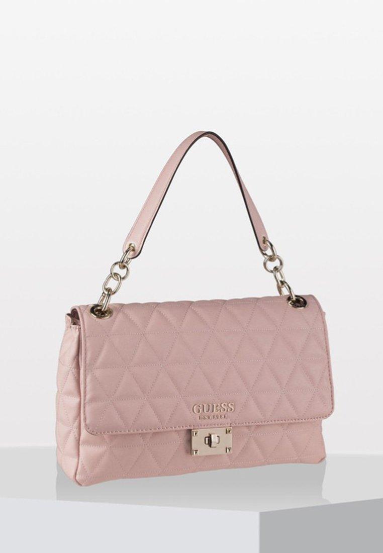 Guess - LAIKEN SHOULDER BAG - Handtasche - blush