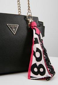 Guess - ANALISE SOCIETY SATCHEL - Handbag - black - 6