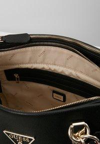 Guess - ANALISE SOCIETY SATCHEL - Handbag - black - 4