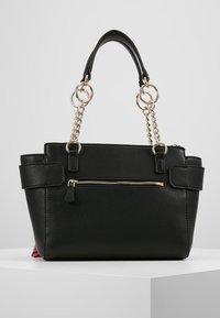 Guess - ANALISE SOCIETY SATCHEL - Handbag - black - 2