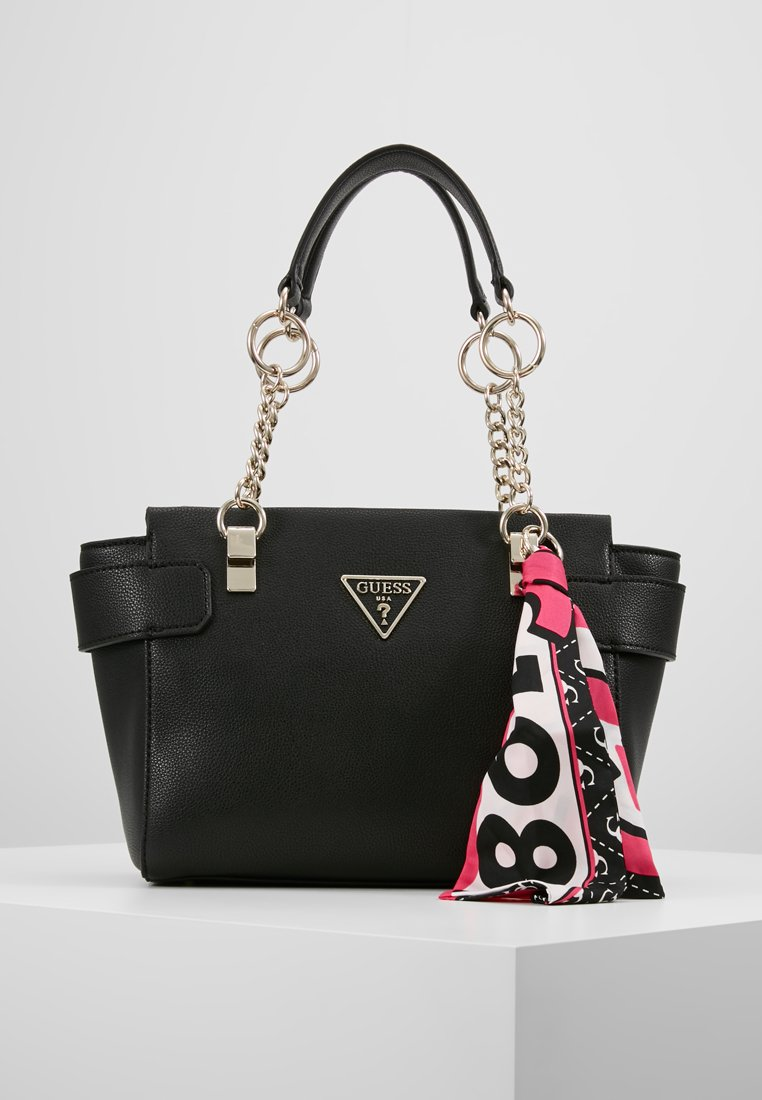 Guess - ANALISE SOCIETY SATCHEL - Handtasche - black