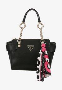 Guess - ANALISE SOCIETY SATCHEL - Handbag - black - 5