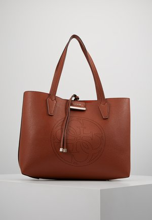BOBBI INSIDE OUT TOTE SET - Handbag - cognac/spice