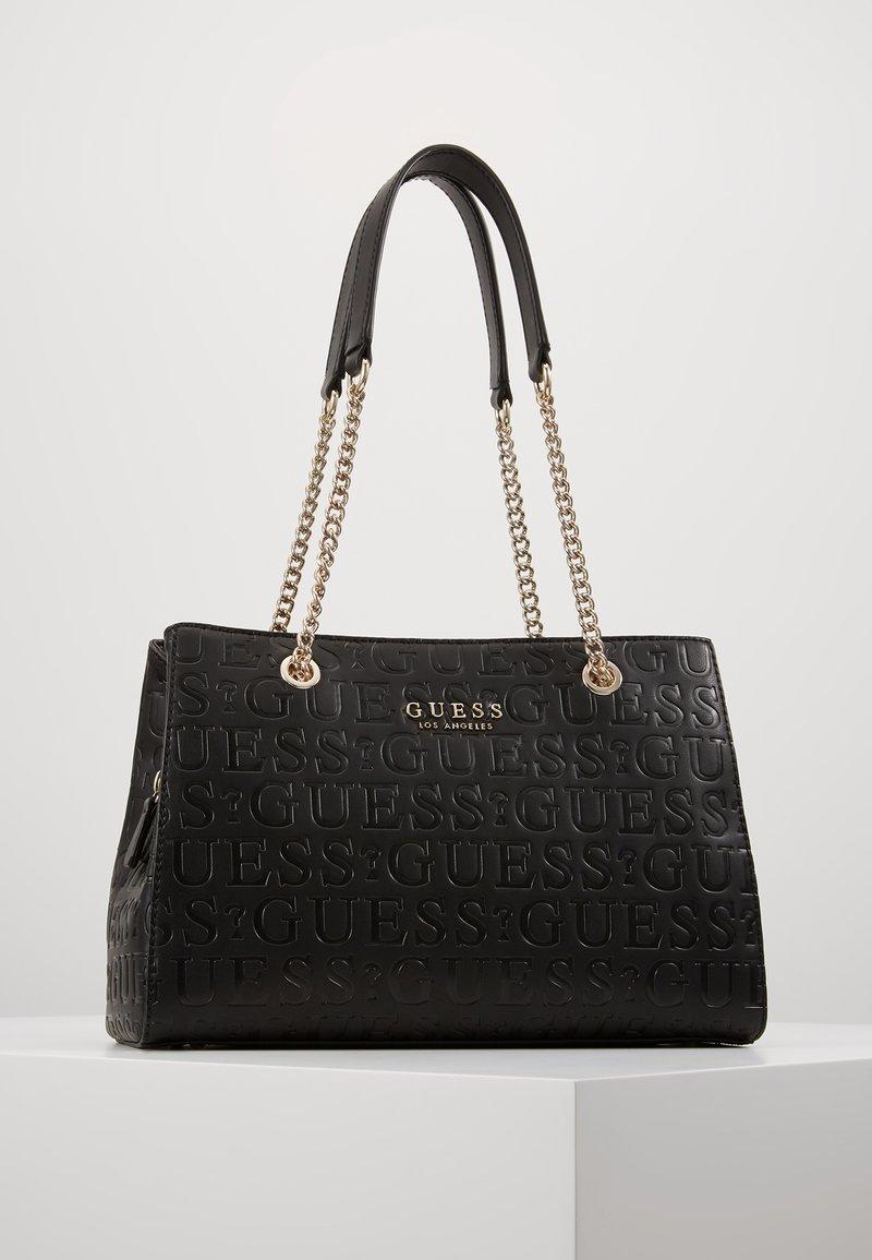 Guess - ROBYN GIRLFRIEND SATCHEL - Handtasche - black