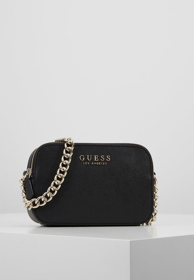 Guess - ROBYN CROSSBODY CAMERA - Axelremsväska - black