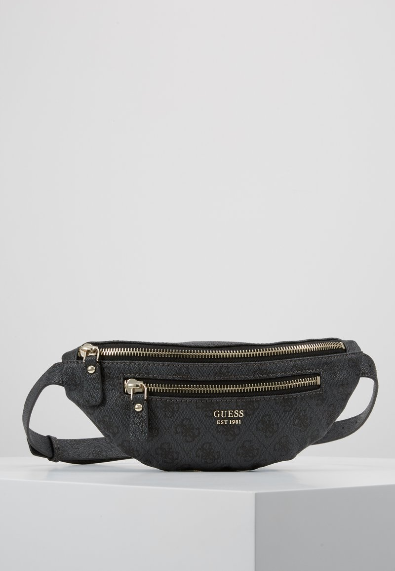 Guess - LEEZA BELT BAG - Gürteltasche - coal