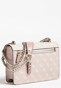 Guess - ALINE CONVERTIBLE XBODY FLAP - Sac bandoulière - bright rose - 2