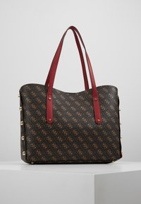 Guess - ALINE  - Bolso shopping - brown/multi - 2