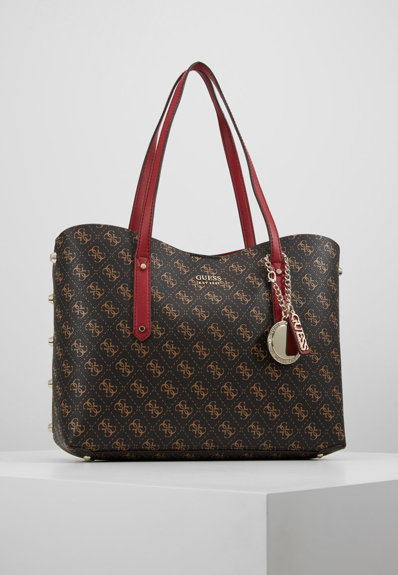 Guess - ALINE  - Shopping bag - brown/multi