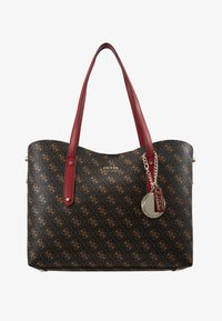 Guess - ALINE  - Bolso shopping - brown/multi - 6