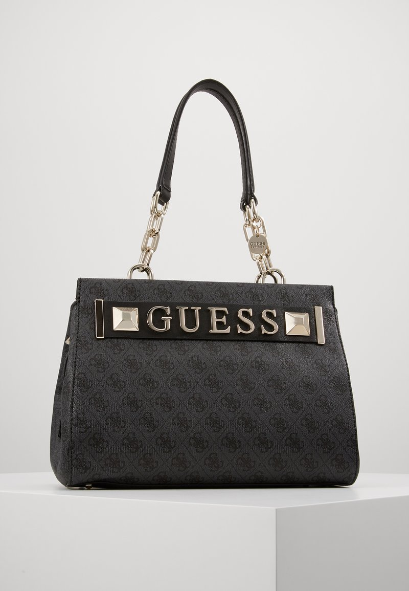 Guess - KERRIGAN GIRLFRIEND CARRYALL - Torebka - coal