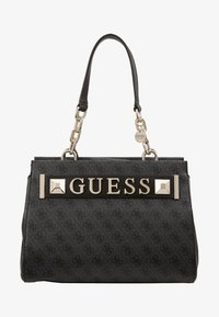 Guess - KERRIGAN GIRLFRIEND CARRYALL - Torebka - coal - 5