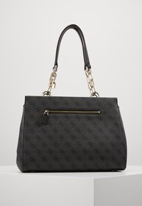 Guess - KERRIGAN GIRLFRIEND CARRYALL - Kabelka - coal - 2