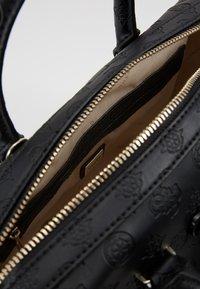 Guess - JANELLE BOX - Handbag - black - 4