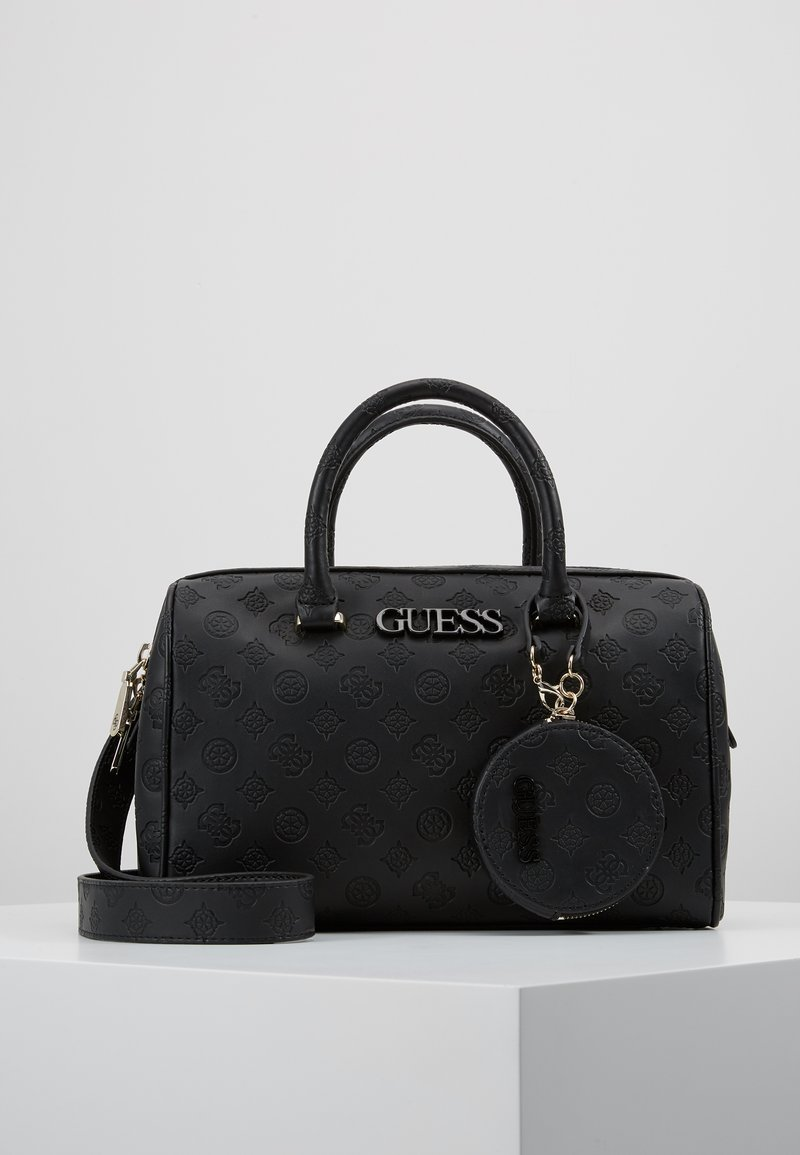 Guess - JANELLE BOX SATCHEL  - Handtasche - black