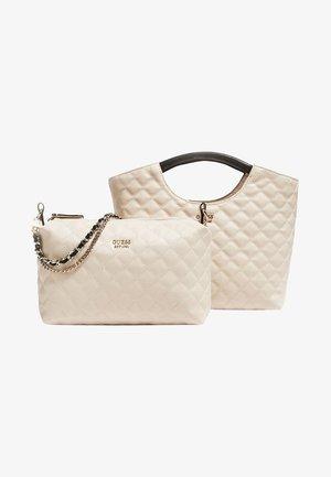 MIRIAM - Tote bag - white