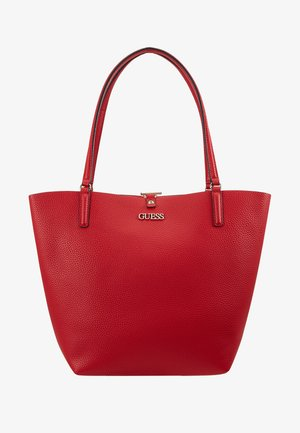 ALBY TOGGLE TOTE SET - Tote bag - lipstick