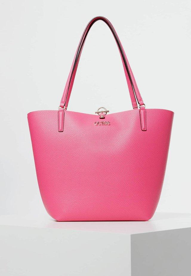 ALBY TOGGLE TOTE SET - Handtasche - fuchsia