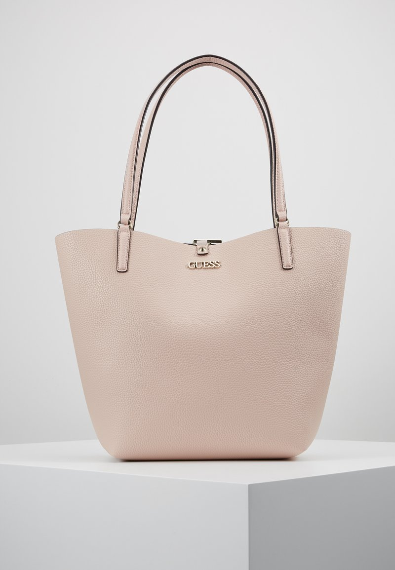 Guess - ALBY TOGGLE TOTE SET - Handtasche - blush